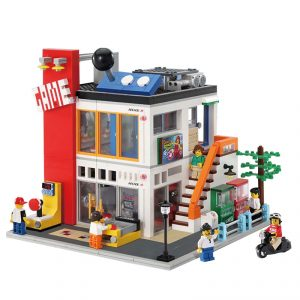 Modular House Maritime Museum Xb 01005 Fun Brick Sets