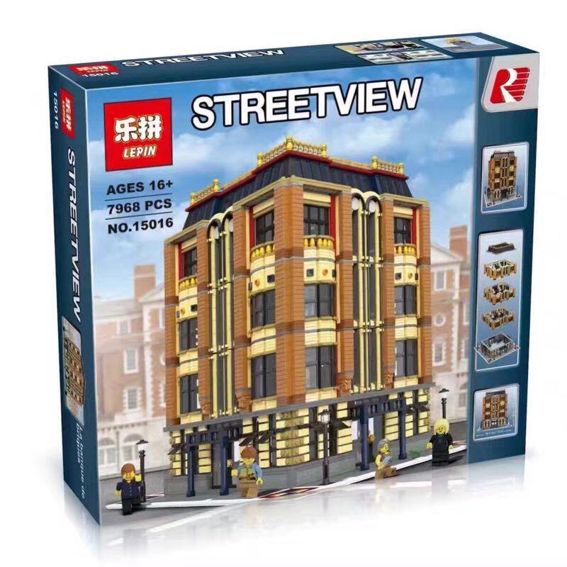 Apple Square University Modular Building Lepin 15016 Fun Brick Sets