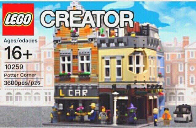 Presell: Lepin 15034 – Potter Corner