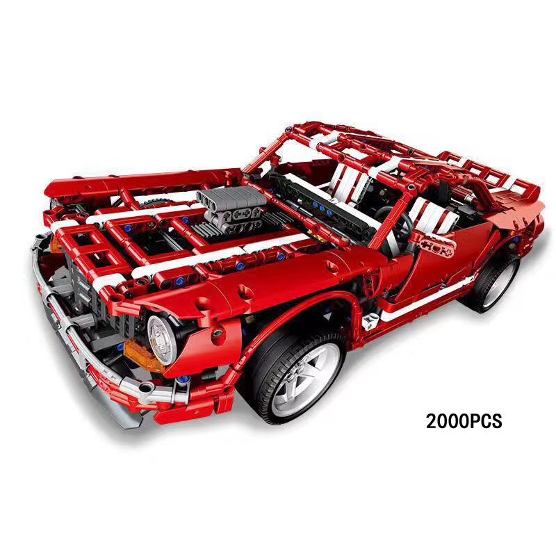 Muscle Car (XB-07001) - Fun Brick Sets