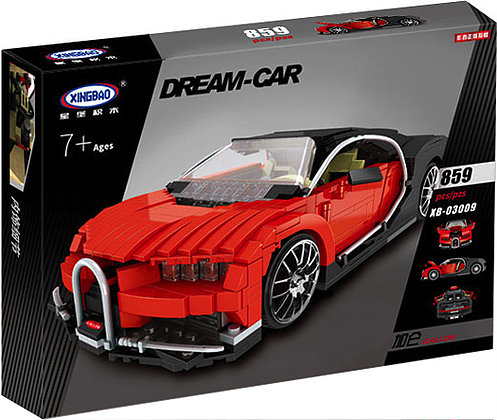 bugatti veyron xb 03009 fun brick sets. Black Bedroom Furniture Sets. Home Design Ideas